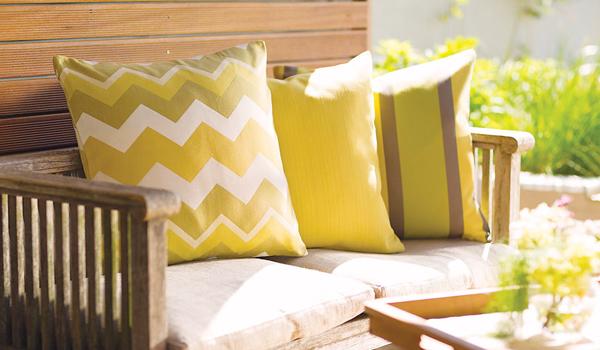 Textiles muebles de exterior
